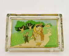 Dubout illustrateur cendrier verre objet collection 1951 Création art DD Paris