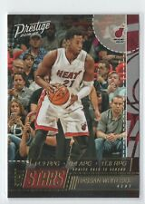 New listing 2016-17 Prestige Stat Stars #10 Hassan Whiteside - Miami Heat