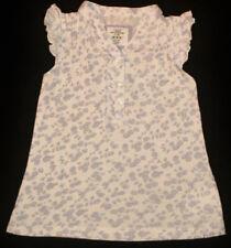 H&M Kurzarm Mädchen-Tops, - T-Shirts & -Blusen mit Blumenmuster