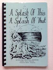 1992 DELTA KAPPA GAMMA TEACHER HONOR SOCIETY COOKBOOK, VIRGINIA BEACH, VA