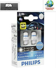 PHILIPS XTREME VISION 360 LED T10 W5W CAR BULBS 8000K