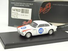 Bang 1/43 - Alfa Romeo Giulietta Sprint Targa Florio 1960 N°48