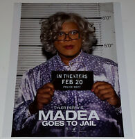 TYLER PERRY In-Person Signed 11x14 Madea Goes to Jail Movie Poster Photo w/COA