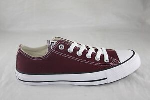 CONVERSE BURGUNDY LOW 139794F CANVAS CASUAL SHOE