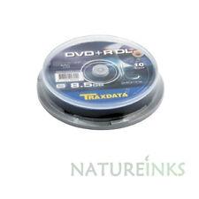150 Traxdata Ritek Dual Double Layer DVD+R DL 8x Blank Discs 8.5GB Tracked Post