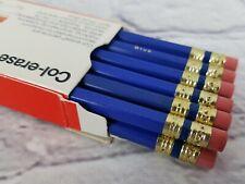 NIB Vtg Col-Erase Erasable Color Pencils 20004 BLUE