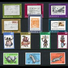JAMAICA 1971-75 3 Sets. SG 335-340, 365-367, 406-409. MLH. (CA47B)