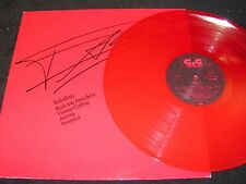 FALCO 3 / German red vinyl LP 1985 G.G Records TELDEC 6.26210AS