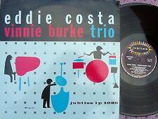 Eddie Costa Vinnie Burke Trio SPA Reissue ST LP NM MONO Jubilee Jazz Bop