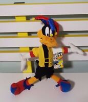DAFFY DUCK PLUSH JESTER LOONEY TUNES LOONEY TOONS WARNER BROTHERS 30CM TALL!