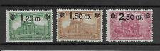 #1116# Deutsches Reich 1920: Kaiserreich Nr. 116-118 (Satz) ungebraucht *