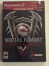 BRAND NEW SEALED!! Mortal Kombat: Deadly Alliance PS2 PlayStation 2