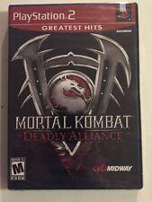 BRAND NEW SEALED!! Mortal Kombat: Deadly Alliance PS2 PlayStation 2
