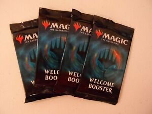MAGIC THE GATHERING M21 WELCOME BOOSTERS X4 SEALED NEW