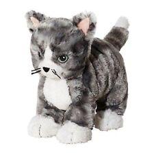 NEW IKEA LILLEPLUTT GRAY WHITE CUDDLY CAT CUDDLY SOFT TOY KITTEN TEDDY GIFT
