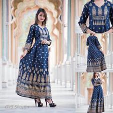 Indian Bollywood Designer indo western gown Kurta Kurti women ethnic dress-op12