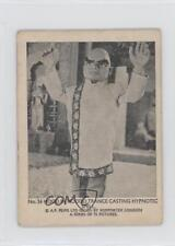 1966 Somportex Thunderbirds Small #54 Hood in Hoodoo Trance Non-Sports Card 0s4
