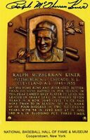 Ralph Kiner Autographed Hall of Fame Card With Scarce FULL Signature