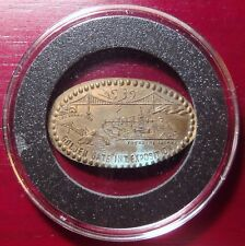 1939 Golden Gate International Exposition Treasure Island Elongated Cent Token!