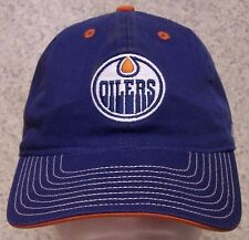 Embroidered Baseball Cap Sports NHL Edmonton Oilers NEW 1 hat size fit all