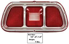 1971-73 Ford Mustang Tail Lamp Lens w/ Molding - RH / LH New