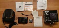 Panasonic LUMIX TZ202 Kompaktkamera - Schwarz mit Restgarantie