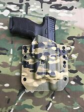 Multicam Kydex Light Bearing Holster for H&K HK VP9 Threaded Barrel Surefire XC1