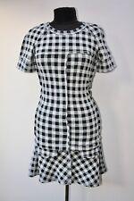 Isabel Marant Etoile Checked Wool Dress Size EU 38 UK 10