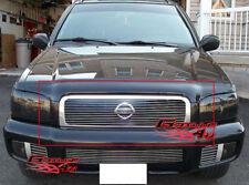 Fits 1999-2001 Nissan Pathfinder SE Main Upper Billet Grille Grill