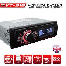 NEW VT-318 Single Din USB SD AUX FM Radio Car Stereo Player