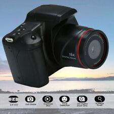 Digital SLR Camera 2.4'' TFT LCD Screen 1080P 16X Zoom Lens Anti-shake Portable