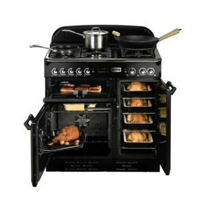 Classic 110  Falcon Gasherd  Range Cooker Küchenherd Herd Rangecooker Schwarz