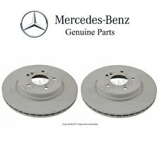 For Mercedes R171 W203 W210 Pair Set of 2 Rear Brake Disc Rotors Vent 300mm OES