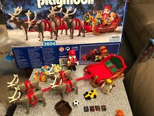 Playmobil 3604 Christmas Magic Sleigh Fully Complete