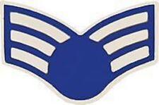 AIR FORCE USAF E-4 SENIOR  AIRMAN RANK HAT LAPEL  PIN