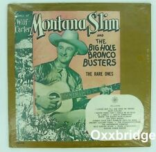 SEALED WILF CARTER Montana Slim THE RARE ONES Big Hill Bronco Busters 1960 VINYL