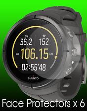 Suunto Spartan watch face protectors x 6 protection