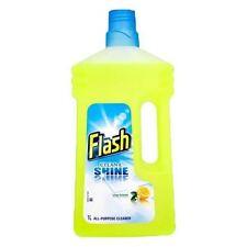 Flash All Purpose Lemon Liquid Cleaner 1L pack of 6