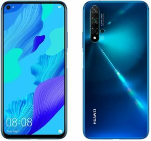 Huawei Nova 5T 6.26 Inch 128GB 48MP 4G Android Mobile Phone - Blue