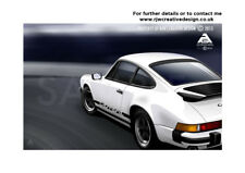 Porsche 911 Carrera A3 Poster Illustration