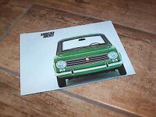 Prospectus / Brochure FIAT 124 197? //