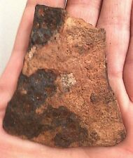 RARE ROMAN IRON AX BLADE HEAD BATTLEFIELD WEAPON 1-300 AD FOUND WITH ARROWHEADS