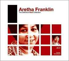 """ARETHA FRANKLIN """"THE DEFINITIVE SOUL COLLECTION"""" 2 CD new not sealed"""