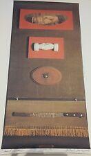 "DANIEL SPOERRI litografia firmata ""Salut les Copains""1990!!!"