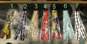 Krawatte Silk Tie Cravat Memphis Milano Seide Nr. 6 SOTTSASS by FRANTA Köln