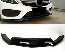 Für Mercedes-Benz C-Klasse W205 A205 C205 Amg Look Frontspoiler Lippe Diffusor