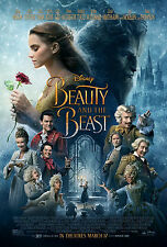 Framed Print - Beauty and the Beast Movie Poster (Picture DVD Blu-Ray Artwork)