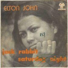 "ELTON JOHN JACK RABBIT MADAGASCAR ORIG EP 45 PS 7"""
