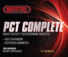 Hardcore PCT Complete, Estrogen Block,Testosterone,Eradicate,Post Cycle