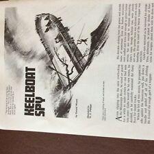 a4c ephemera 1960s short story keelboat spy gerald wyatt